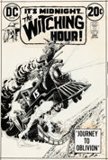 Original Comic Art:Covers, Nick Cardy The Witching Hour