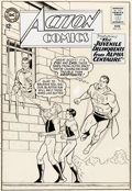 Original Comic Art:Covers, Curt Swan and George Klein Action Comics #315 Cover Original Art (DC, 1964).... (Total: 2 Original Art)