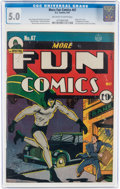 Golden Age (1938-1955):Superhero, More Fun Comics #67 (DC, 1941) CGC VG/FN 5.0 Off-white to white pages....