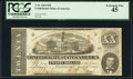 Confederate Notes:1863 Issues, Fully Framed T58 $20 1863 PCGS Extremely Fine 45.. ...