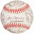 Autographs:Baseballs, 1996 New York Yankees Team Signed Baseball. ...