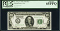 Fr. 2151-G $100 1928A Federal Reserve Note. PCGS Gem New 65PPQ