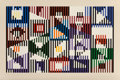Prints & Multiples, Yaacov Agam (b. 1928). Untitled, late 20th century. Screenprint in colors on wove paper. 25-3/4 x 38-5/8 inches (65.4 x ...