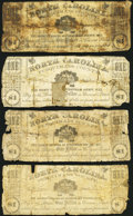 (Hertford), NC- Perquimans County $1 circa 1862 Four Examples About Good. ... (Total: 4 notes)