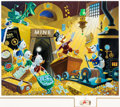 Memorabilia:Disney, Carl Barks Rich Finds at Inventory Time Signed Limited Edition Remarqued Serigraph Print #3/100 (Disney Arts Editi...