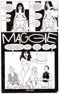 Original Comic Art:Panel Pages, Jaime Hernandez Love and Rockets Vol. 2 #8 Story Page 1 Frogmouth Original Art (Fantagraphics, 2003)....