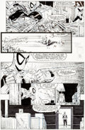 Original Comic Art:Panel Pages, Todd McFarlane Amazing Spider-Man #320 Story Page 8 Original Art (Marvel, 1989)....