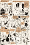 Original Comic Art:Panel Pages, Bill Sienkiewicz The New Mutants #22 Story Page 15 Original Art (Marvel Comics, 1984)....