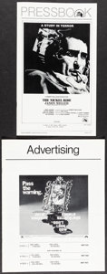 """Movie Posters:Crime, The Nickel Ride & Other Lot (20th Century Fox, 1974). Very Fine-. Uncut Pressbook (12 Pages, 8.5"""" X 14""""), Ad Supplement (8 P... (Total: 4 Items)"""