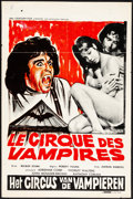 "Movie Posters:Horror, Vampire Circus & Other Lot (20th Century Fox, 1972). Folded, Fine/Very Fine. Belgians (3) (14.25"" X 21.5"" & 14.25"" X 21.75"")... (Total: 3 Items)"