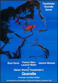 """Movie Posters:Foreign, Querelle (Scotia International Filmverleih, 1982). Folded, Very Fine. German A1 (23.5"""" X 33"""") Andy Warhol Artwork. Foreign...."""