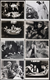 "The Cincinnati Kid (MGM, 1965). Very Fine. Photos (14) & British Front of House Color Photo (8"" X 10""). Dr..."