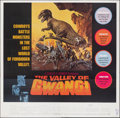 Movie Posters:Science Fiction, The Valley of Gwangi (Warner Bros., 1969). Folded, Very Fi...