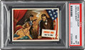 """Non-Sport Cards:Singles (Post-1950), 1954 Topps Scoop """"Lincoln Shot"""" #6 PSA NM-MT 8 - Only One Higher. ..."""