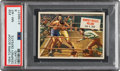 """Boxing Cards:General, 1954 Topps Scoop """"Dempsey Defeats Williard"""" #39 PSA NM-MT 8 - Pop Five, None Higher. ..."""