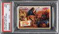 "Non-Sport Cards:Singles (Post-1950), 1954 Topps Scoop ""Custer's Last Stand"" #45 PSA Mint 9 - Pop Two, None Higher. ..."