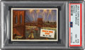 """Non-Sport Cards:Singles (Post-1950), 1954 Topps Scoop """"Brooklyn Bridge Opened"""" #76 PSA NM-MT 8 - None Higher. ..."""