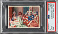 """Non-Sport Cards:Singles (Post-1950), 1954 Topps Scoop """"United States Gets Flag"""" #93 PSA Mint 9 - Pop One, None Higher! ..."""