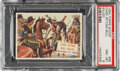 "Non-Sport Cards:Singles (Post-1950), 1954 Topps Scoop ""Chief Sitting Bull Killed"" #95 PSA NM-MT 8 - Only One Higher. ..."