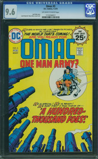 OMAC #3 (DC, 1975) CGC NM+ 9.6 Off-white to white pages