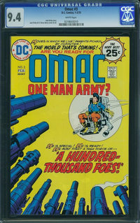 OMAC #3 (DC, 1975) CGC NM 9.4 White pages
