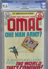 OMAC #1 (DC, 1974) CGC NM+ 9.6 White pages