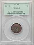 Proof Lincoln Cents: , 1912 1C PR64 Red and Brown PCGS. PCGS Population: (130/71). NGC Census: (40/39). CDN: $575 Whsle. Bid for NGC/PCGS PR64. Mi...