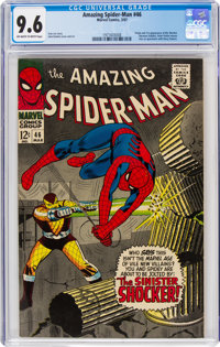 The Amazing Spider-Man #46 (Marvel, 1967) CGC NM+ 9.6 Off-white to white pages