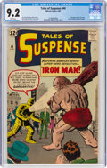 Silver Age (1956-1969):Superhero, Tales of Suspense #40 (Marvel, 1963) CGC NM- 9.2 White pages....