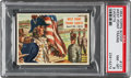 """Non-Sport Cards:Singles (Post-1950), 1954 Topps Scoop """"West Point Trains Cadets"""" #121 PSA NM-MT 8 - Pop Three, None Higher. ..."""