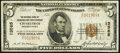 Charleroi, PA - $5 1929 Ty. 1 The National Bank of Charleroi & Trust Company Ch. # 13585 Fine