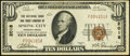 National Bank Notes:Pennsylvania, Spring City, PA - $10 1929 Ty. 1 The National Bank & Trust Company Ch. # 2018 Very Fine.. ...