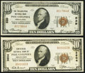 Philadelphia, PA - $10 1929 Ty. 1 The Philadelphia National Bank Ch. # 539 Very Fine-Extremely Fine; $10 1929 Ty. 1...