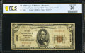 Wibaux, MT - $5 1929 Ty. 1 The First National Bank Ch. # 8259 PCGS Very Fine 20