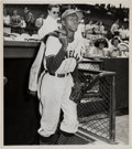 Baseball Collectibles:Photos, Late 1940s Satchel Paige Photograph, PSA/DNA Type I....