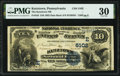 National Bank Notes:Pennsylvania, Kutztown, PA - $10 1882 Date Back Fr. 543 The Kutztown National Bank Ch. # (E)5102 PMG Very Fine 30.. ...