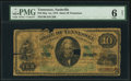 Nashville, TN- State of Tennessee $10 May 1, 1865 Cr. 8 PMG Good 6 Net