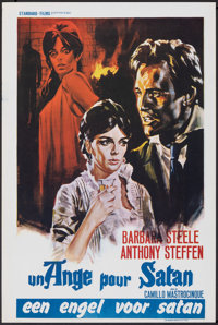 "An Angel for Satan & Other Lot (Standard Films, 1966). Rolled, Very Fine-. Belgians (2) (14.25"" X 21.75"" &..."