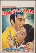 Movie Posters:Foreign, Gate of Hell (Metropolitan Films, 1954). Folded, Very Fine...