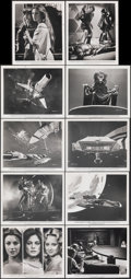 """Movie Posters:Science Fiction, Battlestar Galactica (Universal, 1978). Very Fine. Photos (19) & Mini Lobby Cards (4) (8"""" X 10""""). Science Fiction.. ... (Total: 23 Items)"""