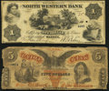 Philadelphia, PA- Union Bank $5 Aug. 4, 1863 Very Good; Warren, PA- North Western Bank $1 Aug. 1, 1861 Very Good-... (To...