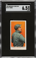 Baseball Cards:Singles (Pre-1930), 1909 E92 Dockman & Sons Cy Young SGC EX-NM+ 6.5 - Pop One, Two Higher....