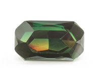 Gemstone: Chrome Tourmaline - 2.62 Cts. Tanzania 9.52 x 5.62 x 5.75 mm