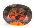 Gems:Faceted, Gemstone: Citrine - 18.8 Cts.. Africa. 20.46 x 14.87 x 11.76 mm. ...