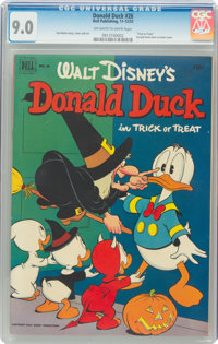 Donald Duck #26 (Dell, 1952) CGC VF/NM 9.0 Off-white to white pages