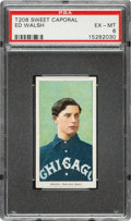 Baseball Cards:Singles (Pre-1930), 1909-11 T206 Sweet Caporal 150/25 Ed Walsh PSA EX-MT 6....