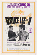 """Movie Posters:Action, Bruce Lee and I & Other Lot (Pacific Grove, 1973). Folded, Fine/Very Fine. One Sheets (3) (27"""" X 41""""). Action.. ... (Total: 3 Items)"""