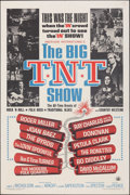 "Movie Posters:Rock and Roll, The Big T.N.T. Show (American International, 1966). Folded, Very Fine-. One Sheet (27"" X 41""). Rock and Roll.. ..."