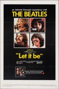 """Movie Posters:Rock and Roll, Let It Be (United Artists, 1970). Folded, Very Fine-. One Sheet (27"""" X 41""""). Rock and Roll.. ..."""