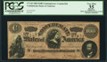 """Confederate Notes:1864 Issues, """"Havana Counterfeit"""" T65/491 $100 1864 PCGS Apparent Very Fine 35.. ..."""